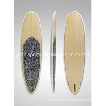 Bamboo Veneer or Wood Veneer Surface Stand up Paddle Board, Sup, Surfboard,